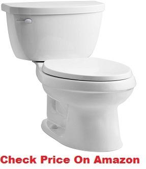 KOHLER K-3609-0 Cimarron Toilet