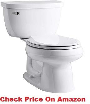 KOHLER K-3851-0 Cimarron Toilet
