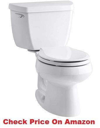 Kohler K-3577-0 Wellworth Classic 1.28 gpf Round-Front Toilet