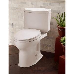 TOTO CST454CEFG#01 Drake II 2-Piece Toilet