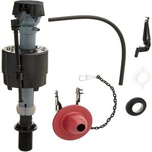 Fluidmaster 400CRP14 Universal Toilet Fill Valve and Flapper Repair Kit